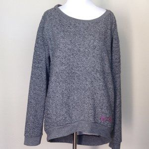 BCBGMaxAzria Grey Sweatshirt with Pockets large
